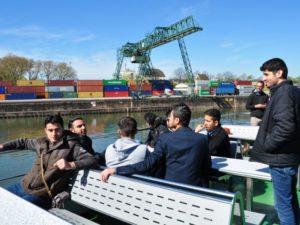 Hafenrundfahrt mit Neurheinländern