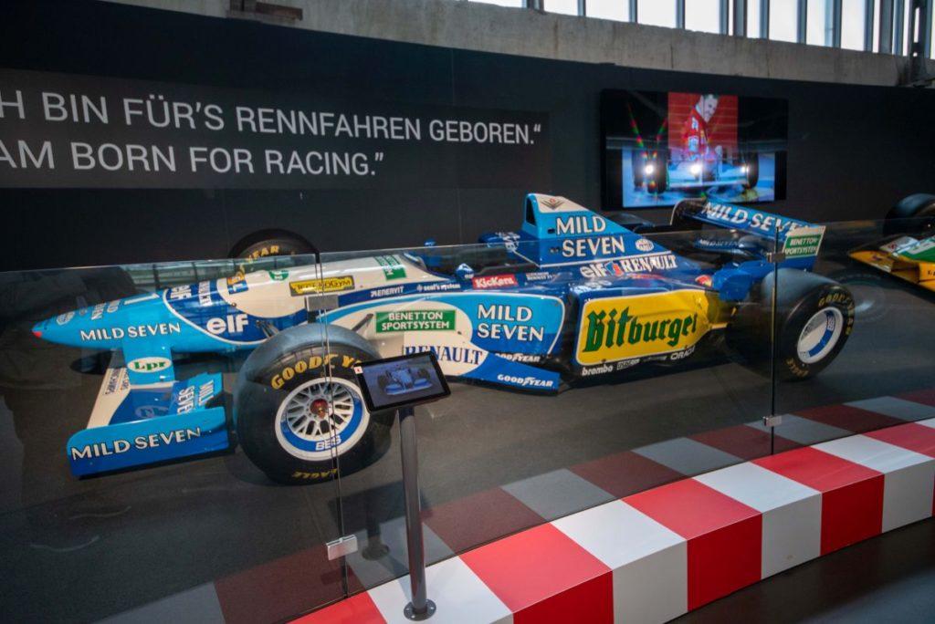 Formel-1-Rennwagen von Michael Schumacher
