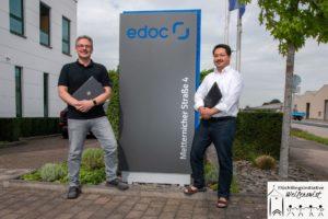 Firma edoc unterstützt Flüchtlingsinitiative  – Computer für die Weiterbildung von Geflüchteten